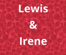 Lewis and Irene stoffen